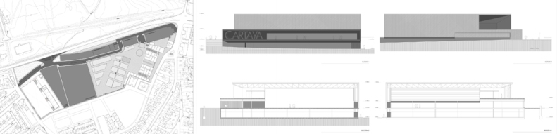 Pabellón Cartaya, Huelva. Atanasio y Muñoz Arquitectos