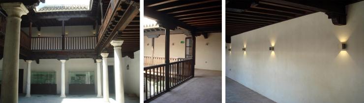 Patio del Asistente Alcázar Sevilla. Atanasio y Muñoz arquitectos