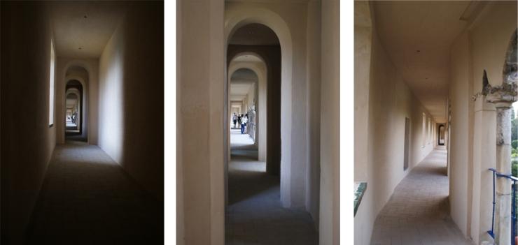 Galería del Grutesco Alcázar Sevilla. Atanasio y Muñoz arquitectos