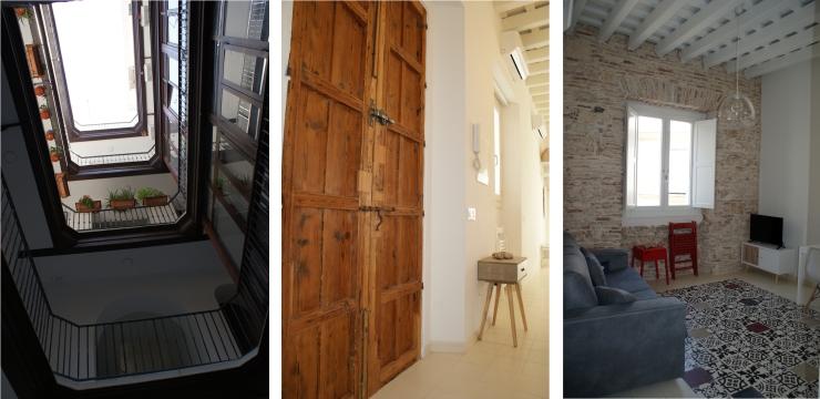 Rehabilitación de vivienda en c/ Rosario 22, Cádiz. Atanasio y Muñoz arquitectos