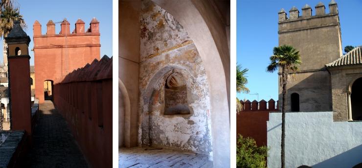 Torre del Agua y Adarves. Alcázar Sevilla. Atanasio y Muñoz arquitectos