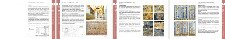 Plan de Ordenación de restauraciones del Real Alcazar de Sevilla. Atanasio y Muñoz arquitectos