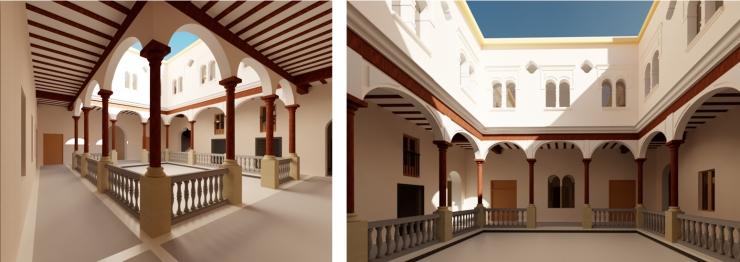 Palacio del Pumarejo, Sevilla. Atanasio y Muñoz arquitectos