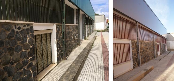 Reforma y Ampliación en IES Cuenca Minera Minas de Rio Tinto, Huelva. Atanasio y Muñoz arquitectos